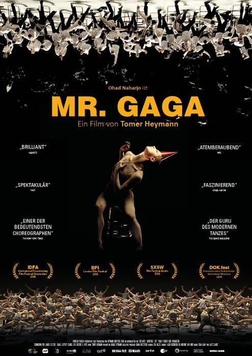 "Filmplakat zu ""Mr. Gaga"" | Bild: Farbfilm"