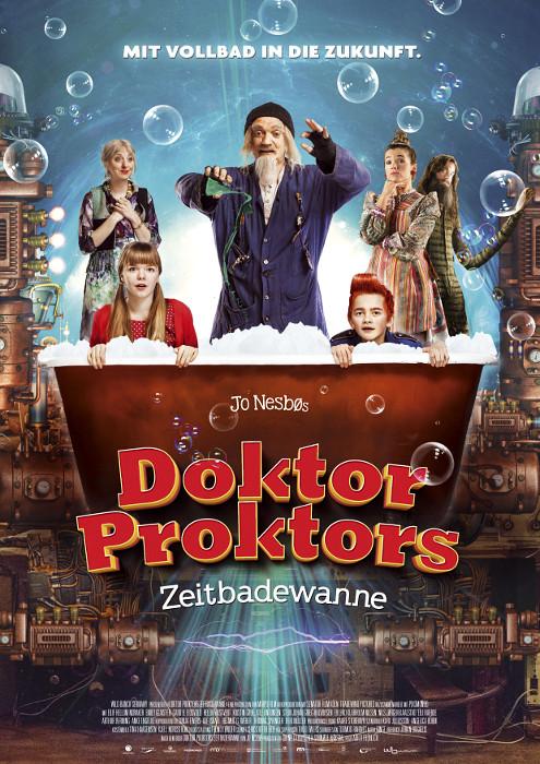 "Filmplakat zu ""Doktor Proktors Zeitbadewanne"" | Bild: Central"