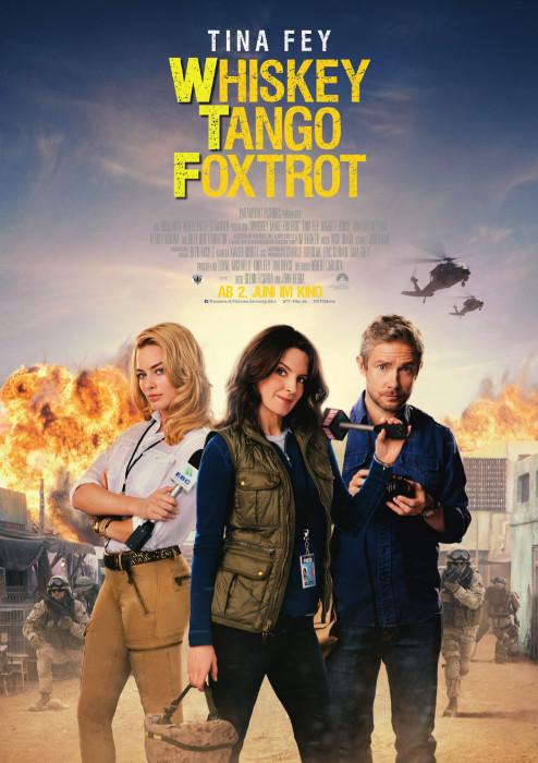 "Filmplakat zu ""Whiskey Tango Foxtrot"" | Bild: Paramount"