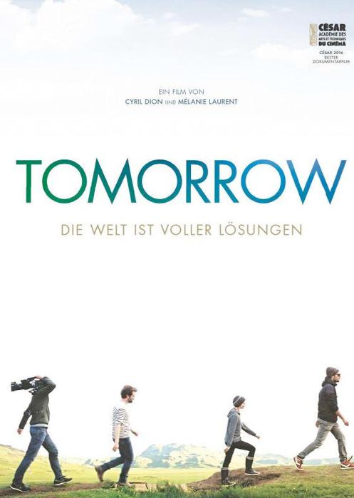 "Filmplakat zu ""Tomorrow"" | Bild: Pandora"