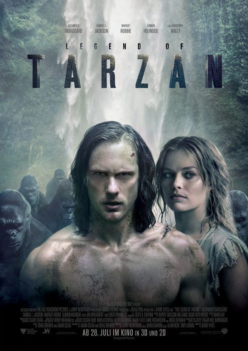 "Filmplakat zu ""Legend of Tarzan"" 