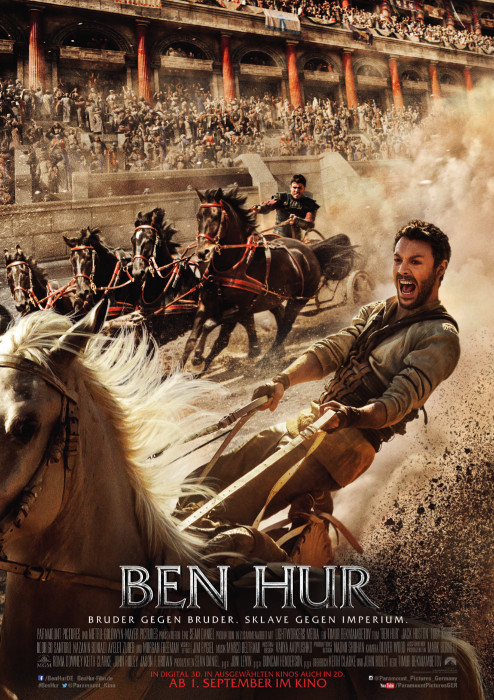 "Filmplakat zu ""Ben Hur"" | Bild: Paramount"
