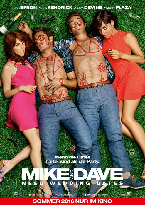 "Filmplakat zu ""Mike and Dave Need Wedding Dates"" | Bild: Fox"