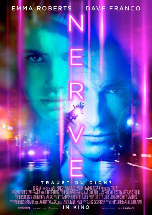 "Filmplakat zu ""Nerve"" | Bild: StudioCanal"