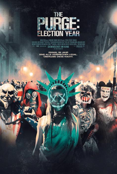 "Filmplakat zu ""The Purge: Election Year"" | Bild: Universal"