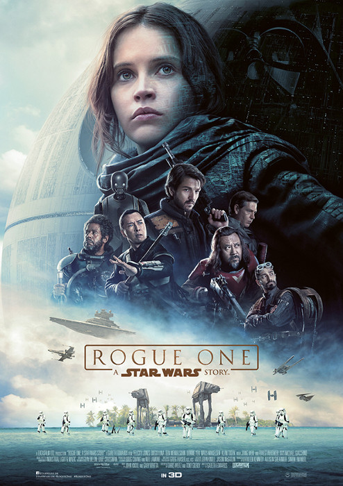 "Filmplakat zu ""Rogue One: A Star Wars Story"" 