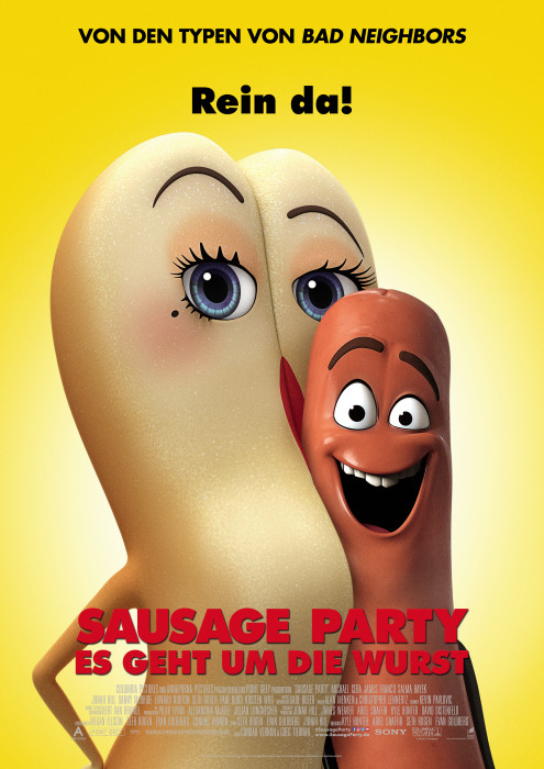 "Filmplakat zu ""Sausage Party"" 