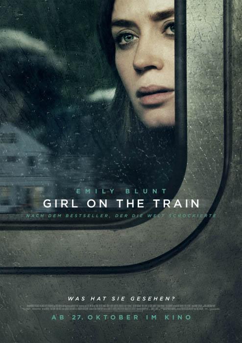 "Filmplakat zu ""Girl on the Train"" | Bild: Constantin"