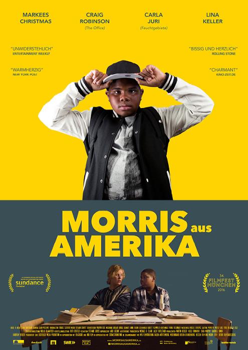 "Filmplakat zu ""Morris aus Amerika"" | Bild: Farbfilm"