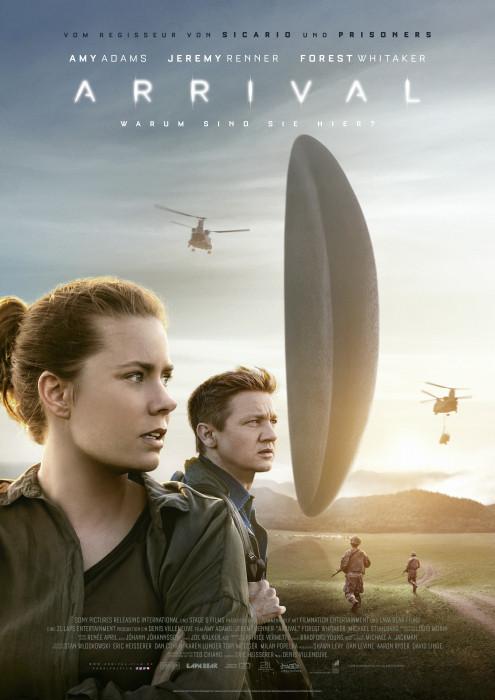 "Filmplakat zu ""Arrival"" | Bild: Sony"