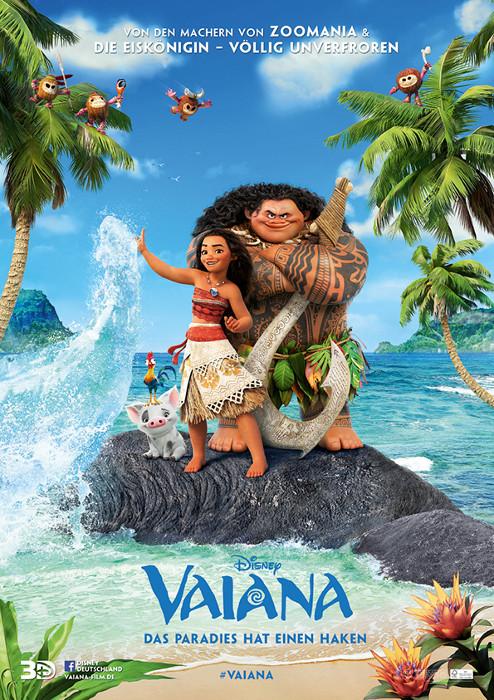"Filmplakat zu ""Vaiana"" | Bild: Walt Disney"