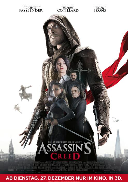 "Filmplakat zu ""Assassin's Creed"" | Bild: Fox"