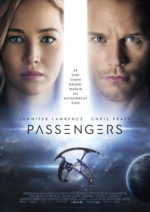"Filmplakat zu ""Passengers""   Bild: Sony"