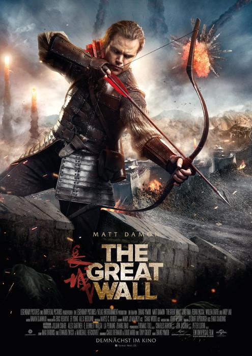 "Filmplakat zu ""The Great Wall"" | Bild: UPI"
