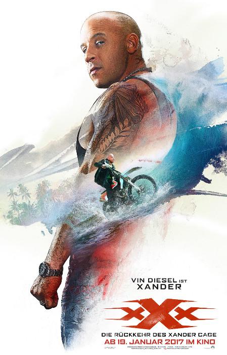 """Filmplakat zu """"xXx: Return of Xander Cage""""   Bild: Paramount"""