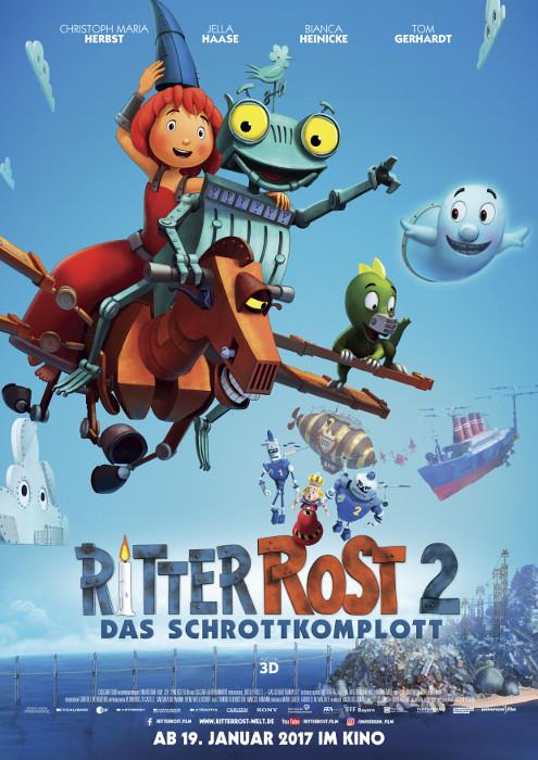 "Filmplakat zu ""Ritter Rost 2 - Das Schrottkomplott"" | Bild: Disney"