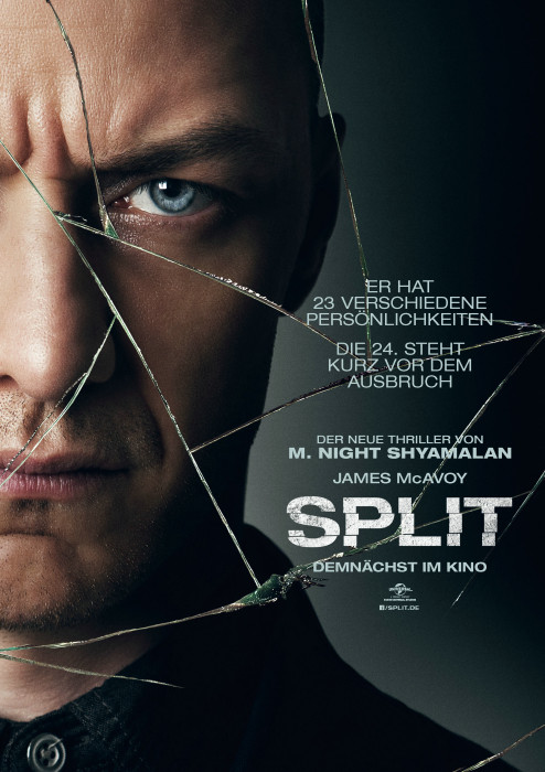 "Filmplakat zu ""Split"" | Bild: Universal"