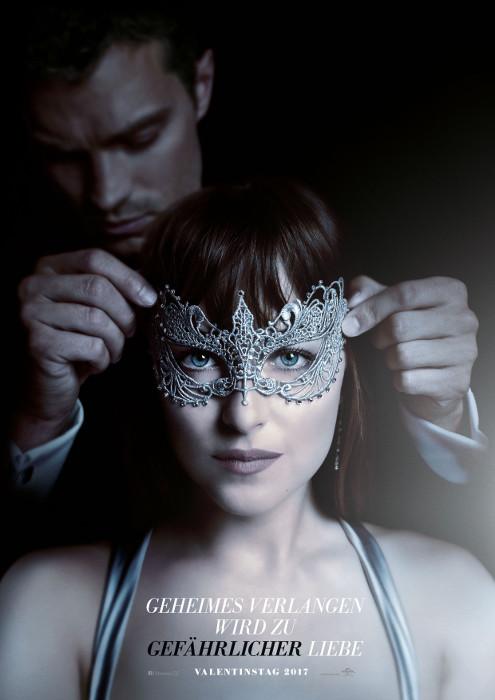 "Filmplakat zu ""Fifty Shades of Grey 2"" | Bild: Universal"