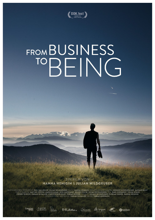 "Filmplakat zu ""From Business to Being"" 