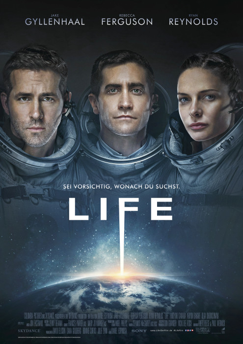 "Filmplakat zu ""Life (2017)"" | Bild: Sony"
