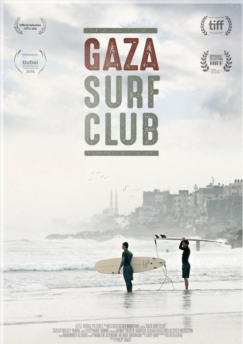 "Filmplakat zu ""Gaza Surf Club""   Bild: Farbfilm"