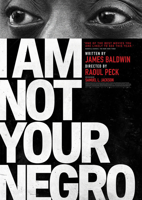 "Filmplakat zu ""I Am Not Your Negro"" | Bild: Salzgeber"
