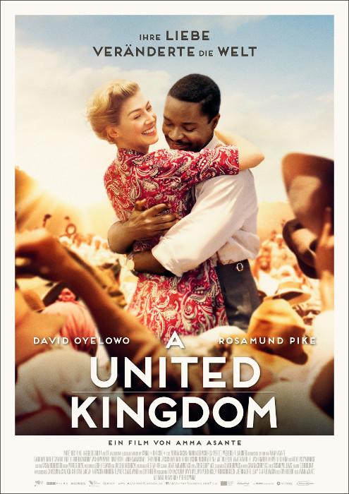 "Filmplakat zu ""A United Kingdom"" | Bild: Filmagentinnen"