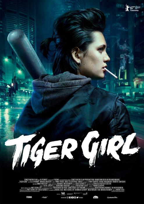 "Filmplakat zu ""Tiger Girl"" | Bild: Constantin"