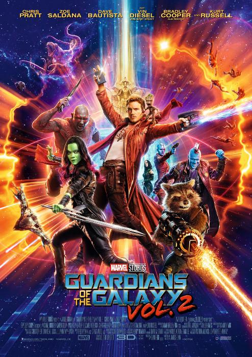 "Filmplakat zu ""Guardians of the Galaxy Vol. 2""   Bild: Disney"
