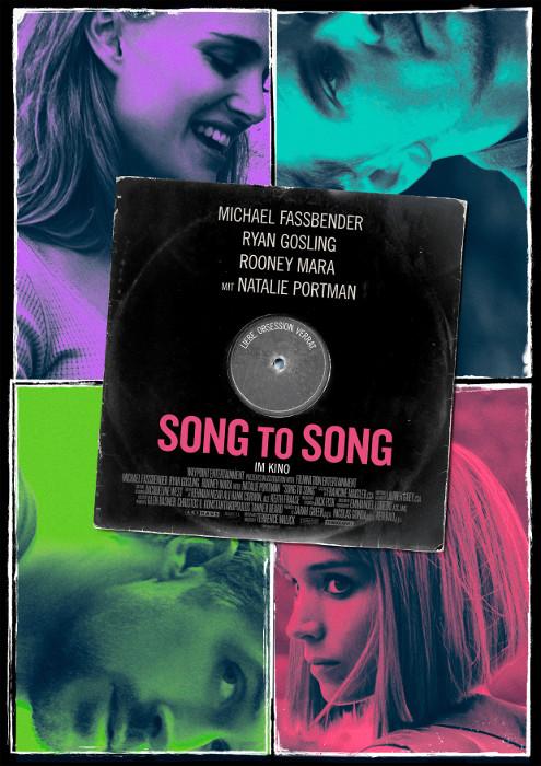 "Filmplakat zu ""Song to Song""   Bild: StudioCanal"