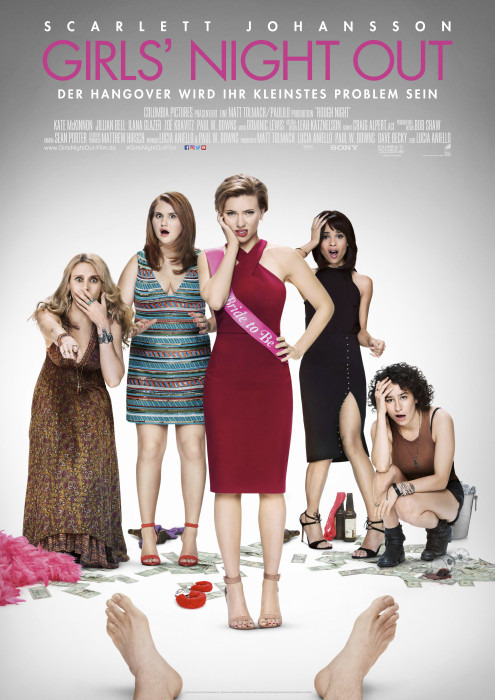 "Filmplakat zu ""Girls' Night Out"" | Bild: Sony"