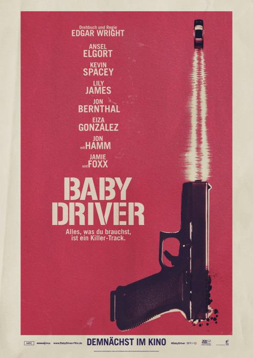"Filmplakat zu ""Baby Driver"" | Bild: Sony"