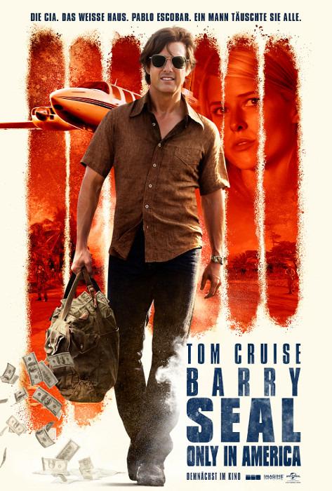 "Filmplakat zu ""Barry Seal - Only in America"" | Bild: UPI"