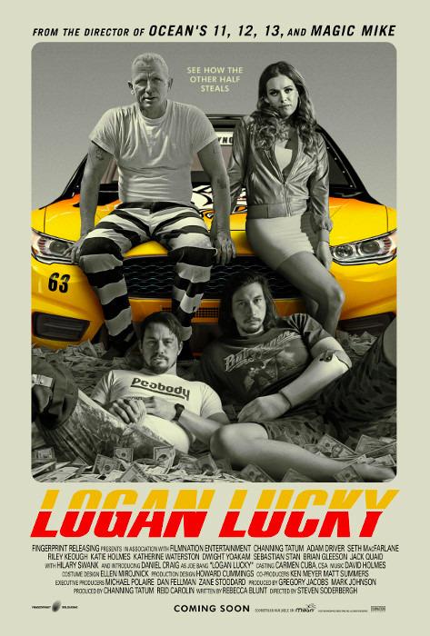 """Filmplakat zu """"Logan Lucky""""   Bild: StudioCanal"""