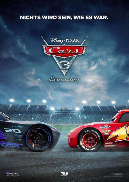 "Filmplakat zu ""Cars 3 - Evolution"" | Bild: Disney"