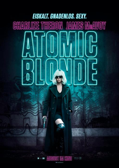 "Filmplakat zu ""Atomic Blonde""   Bild: UPI"