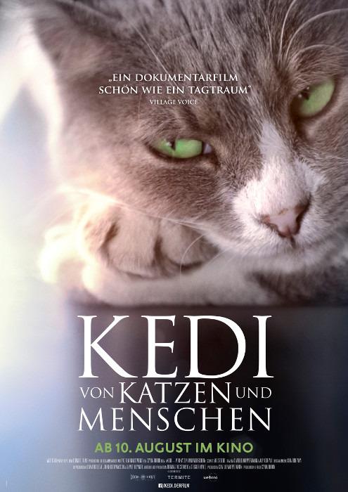 """Filmplakat zu """"Kedi - Von Katzen und Menschen""""   Bild: Weltkino"""