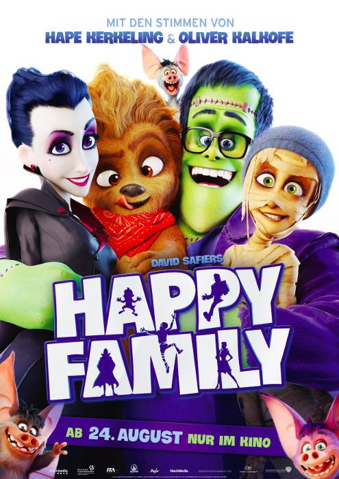 "Filmplakat zu ""Happy Family""   Bild: Warner"