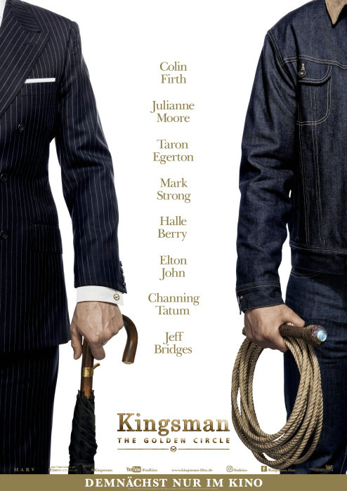 "Filmplakat zu ""Kingsman: The Golden Circle"" 