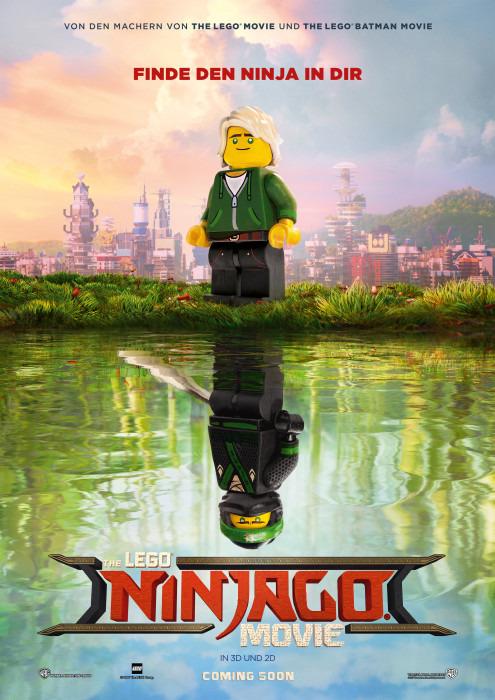"Filmplakat zu ""The Lego Ninjago Movie"" | Bild: Warner"