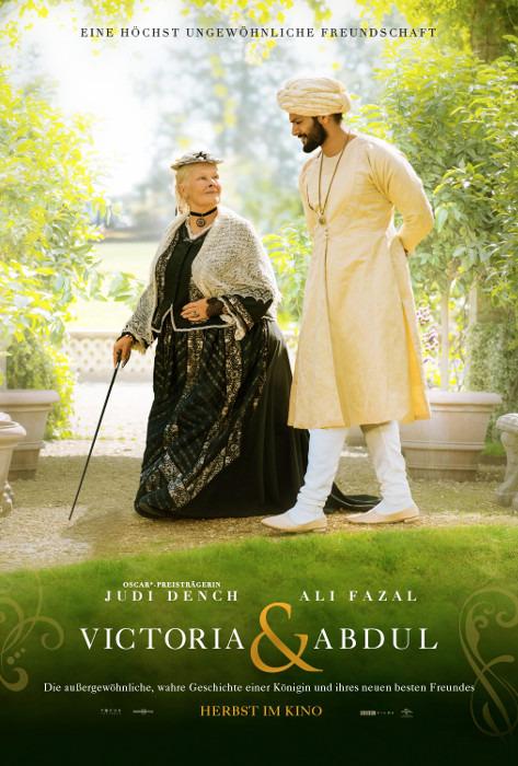 "Filmplakat zu ""Victoria & Abdul"" | Bild: UPI"