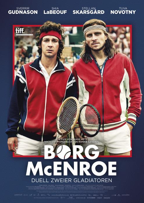 "Filmplakat zu ""Borg/McEnroe"" | Bild: 24 Bilder"