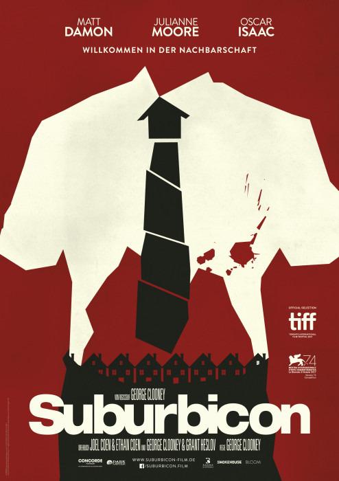"Filmplakat zu ""Suburbicon"" | Bild: Concorde"