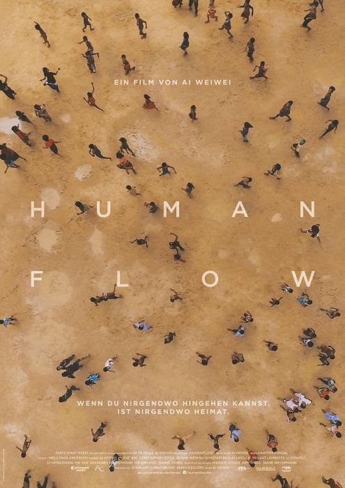 "Filmplakat zu ""Human Flow"" | Bild: Filmwelt"