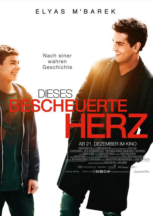 """Filmplakat zu """"Dieses bescheuerte Herz""""   Bild: Constantin"""