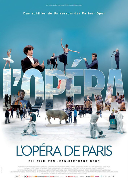 "Filmplakat zu ""Oper - L'opéra de Paris"" | Bild: Kool"