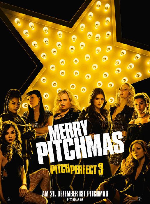 "Filmplakat zu ""Pitch Perfect 3"" | Bild: Universal"