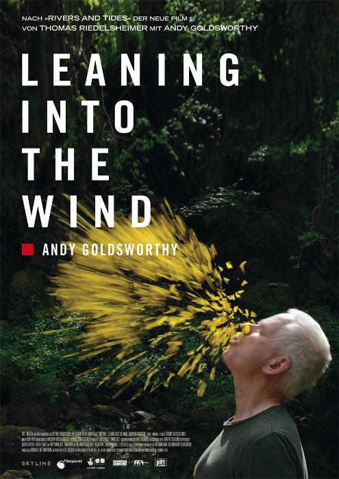 "Filmplakat zu ""Leaning Into the Wind - Andy Goldsworthy"" | Bild: Piffl"