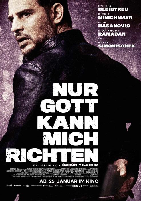 "Filmplakat zu ""Nur Gott kann mich richten"" | Bild: Constantin"