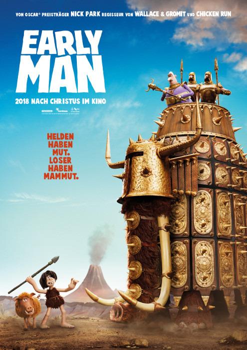 "Filmplakat zu ""Early Man"" | Bild: StudioCanal"